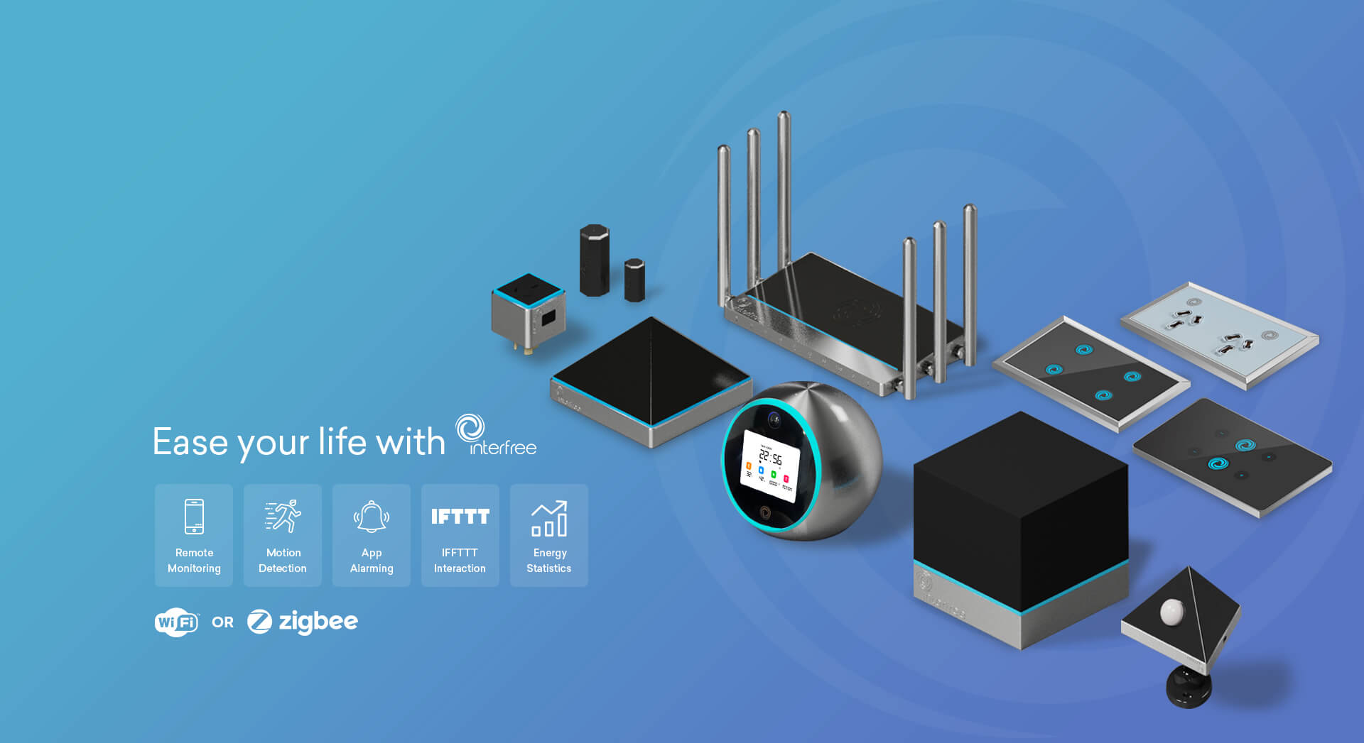 Interfree smart home devices